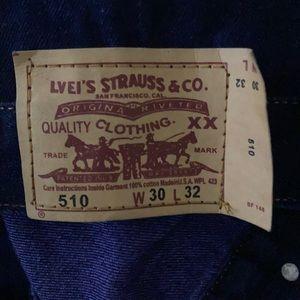 Levi's Strauss & co men 510 straight